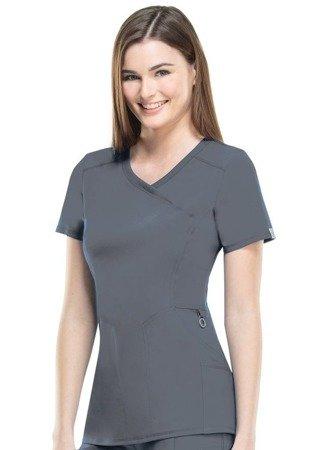 Antybakteryjna damska bluza medyczna limonkowa  Cherokee Infinity 2625A