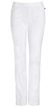 Antybakteryjne damskie spodnie medyczne   białe  Cherokee Infinity 1124A