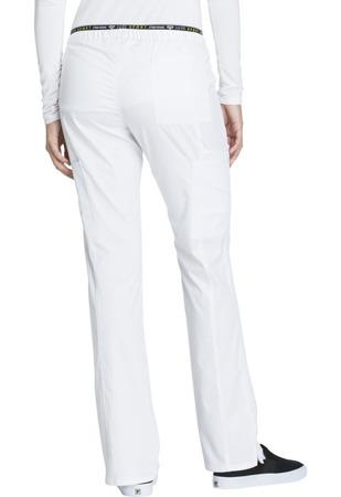 Białe spodnie medyczne Cherokee Luxe CK003