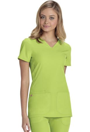 Bluza medyczna damska limonkowa Heartsoul 20710