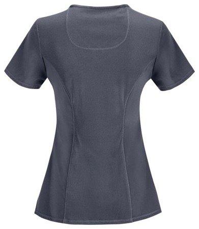 Damska bluza medyczna Infinity 2625A grafitowa