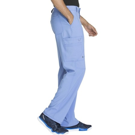 Spodnie medyczne męskie błękitne Cherokee Infinity