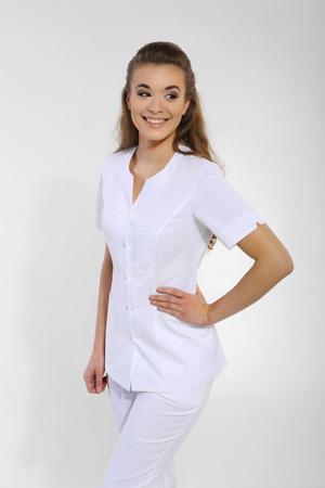 Żakiet medyczny damski biały Apolonia ZA 08